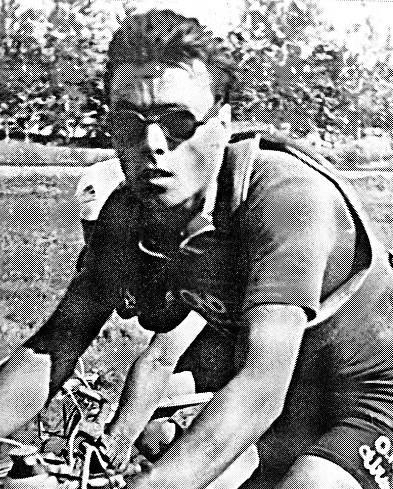 While other competitors in the Giro d'Italia in the mid-1940s rode it to win, Luigi Malabrocca's main motivation was to liven up the race, for the love of the sport. The art of coming in last was to see who could erase the most time, by hiding in bars, barns, and behind hedges, or even puncturing bicycle tires. The legends of Malabrocca finishing more than 100 km from the winner, but still on time to not be disqualified in Giro d'Italia races, were the subject of a book written by Benito Mazzi, Coppi, Bartali, Carollo and Malabrocca: The adventures of the Black Jersey. During his career Malabrocca rode in three Giro d'Italia races coming in 40th, 50th, and 64th, being awarded the Black Jersey in 1946 and 1947. In his later years, before his death in 2006, he focused on exploring mountains in a different way—through mushroom hunting and fishing. Images courtesy of Serena Malabrocca.