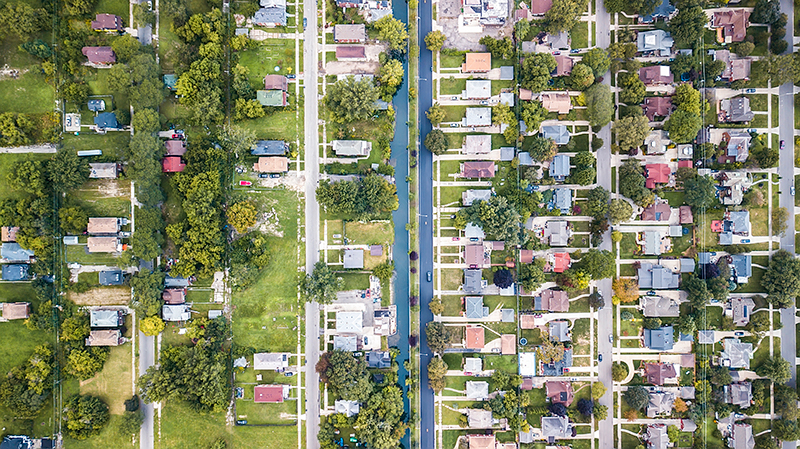 DETROIT —Grosse Point Park is one of the wealthiest neighborhoods in Detroit, but it's not technically within the city's boundaries. The Fox Canal separates it from the now-sparsely populated Jefferson Chalmers neighborhood.